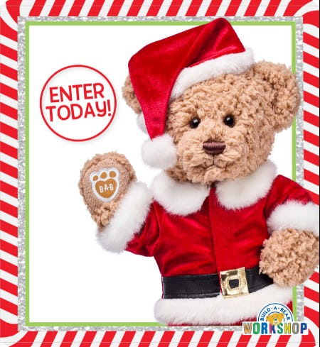 Enter for Your Chance to WIN the Build-A-Bear Wish List Sweepstakes! from Build-A-Bear Workshop