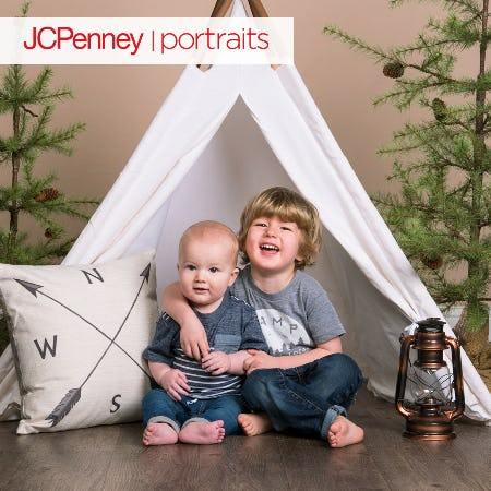 Happy Camper Photo Event at JCPenney Portraits from JCPenney Portraits