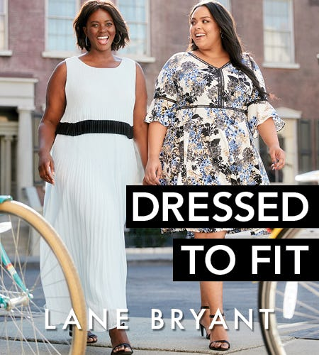 Give $25 off dresses a twirl. from Lane Bryant