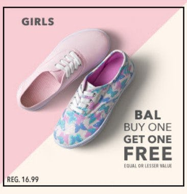 Bal Buy One, Get One Free from Payless ShoeSource