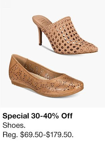 30-40% Off Shoes from macy's