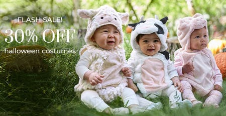 30% Off Halloween Costumes from Pottery Barn Kids