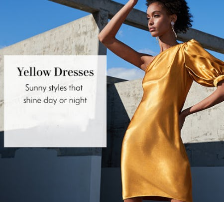 The Yellow Dresses from Neiman Marcus