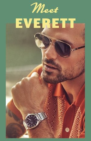 Meet Everett from Fossil