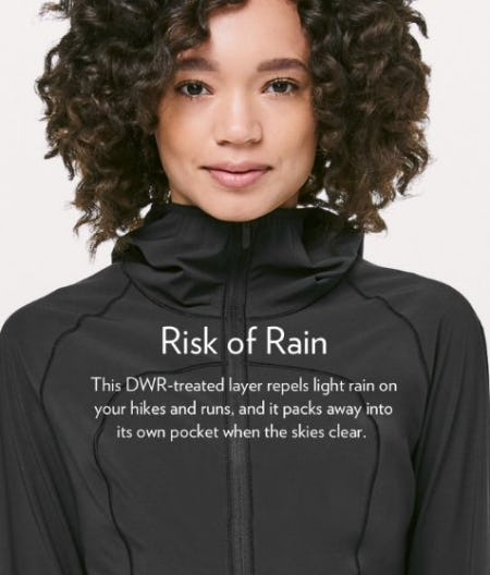 Mist Over Windbreaker from lululemon