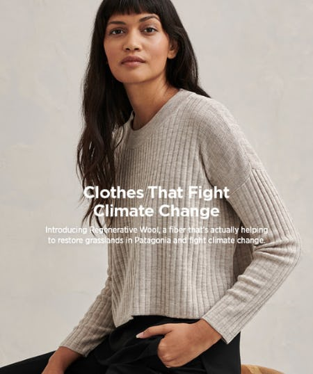 Clothes That Fight Climate Change from Eileen Fisher