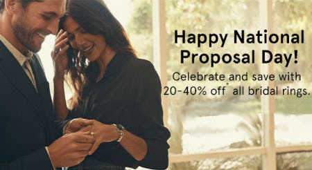 20-40% Off All Bridal Rings