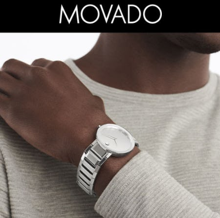 Modern, Minimalist Design From Movado from Jared Galleria of Jewelry