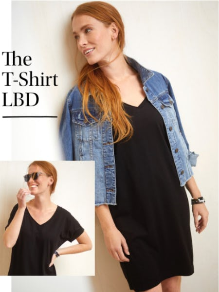 The T-Shirt LBD from Evereve