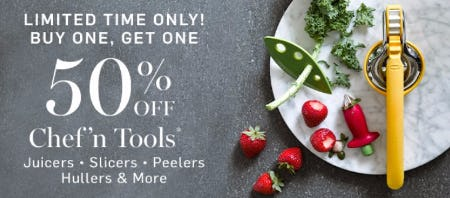 50% Off Chef'n Tools