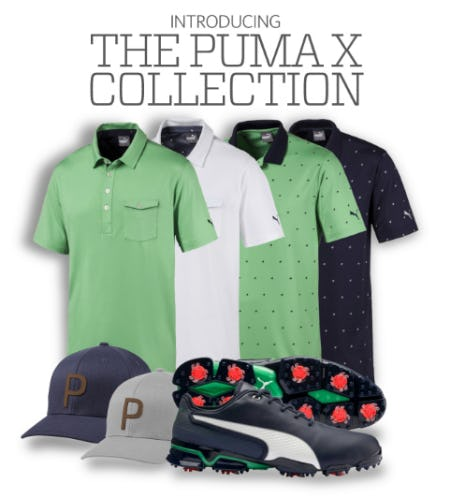 The Puma X Collection from Golf Galaxy