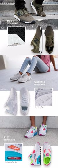 Past-Inspired Sneakers