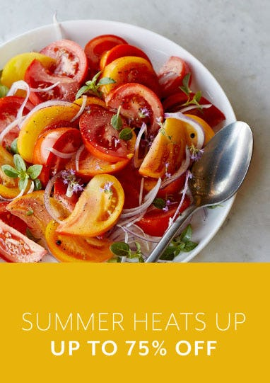 Up to 75% Off Summer Heats Up