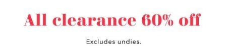 All Clearance 60% Off from Aerie