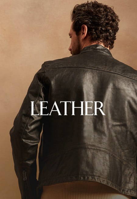 The Texture of Life: Leather from Banana Republic