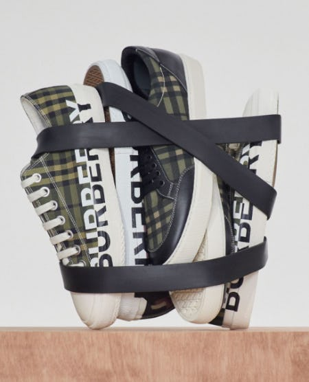 Check Sneakers from Burberry