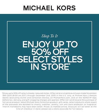 Shop To It from MICHAEL KORS
