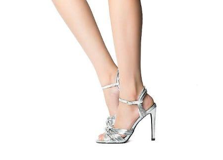 Cape Robbin Silver Women's Alza-38 High Heel from Shiekh