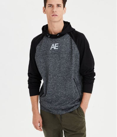Reflective Popover Hoodie from American Eagle Outfitters