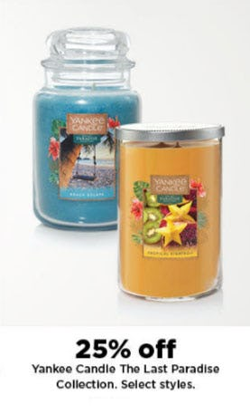25% Off Yankee Candle The Last Paradise Collection from Kohl's