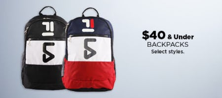 $40 & Under Backpacks from Kohl's