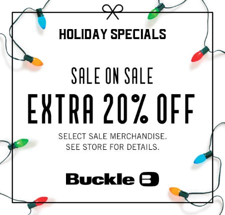Holiday Specials from Buckle