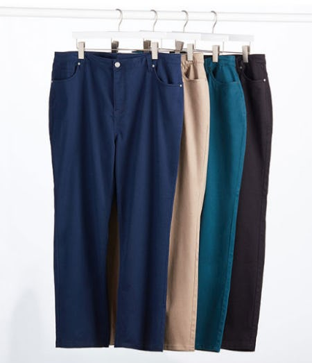 The Sateen Pant from Catherines Plus Sizes
