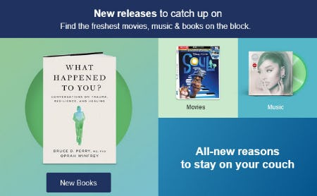 New Releases To Catch Up On