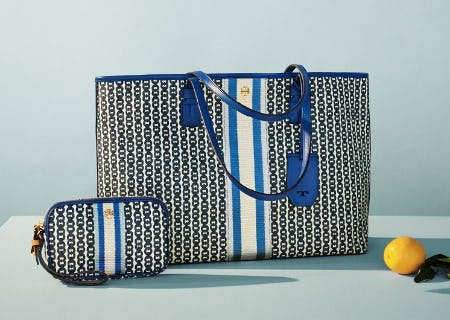 The Gemini Link Tote from Tory Burch
