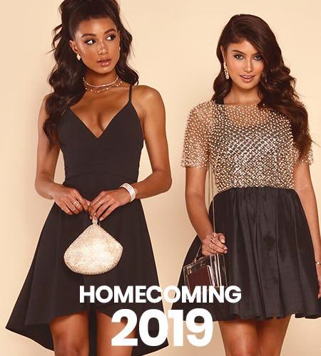 SHOP HOMECOMING DRESSES