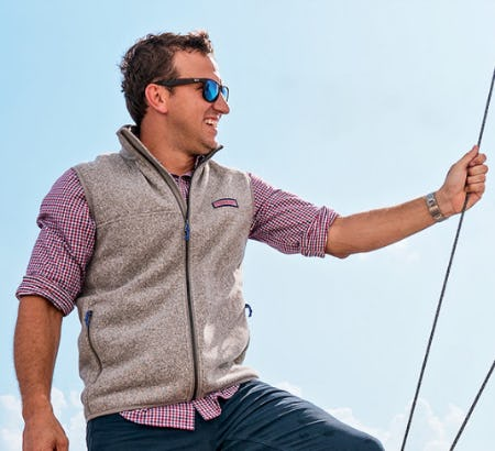 The Sweater Fleece from vineyard vines