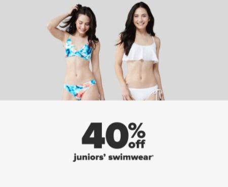 40% Off Juniors' Swimwear from Belk