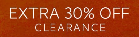 Extra 30% Off Clearance from Pottery Barn Kids