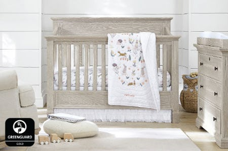 GREENGUARD Gold Certified Cribs from Pottery Barn Kids