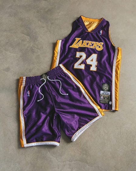 Mitchell and Ness Kobe Authentic