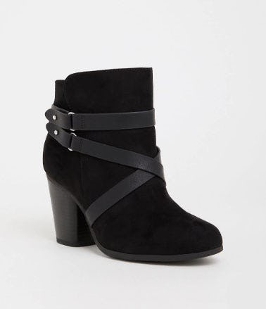 Black Strappy Heel