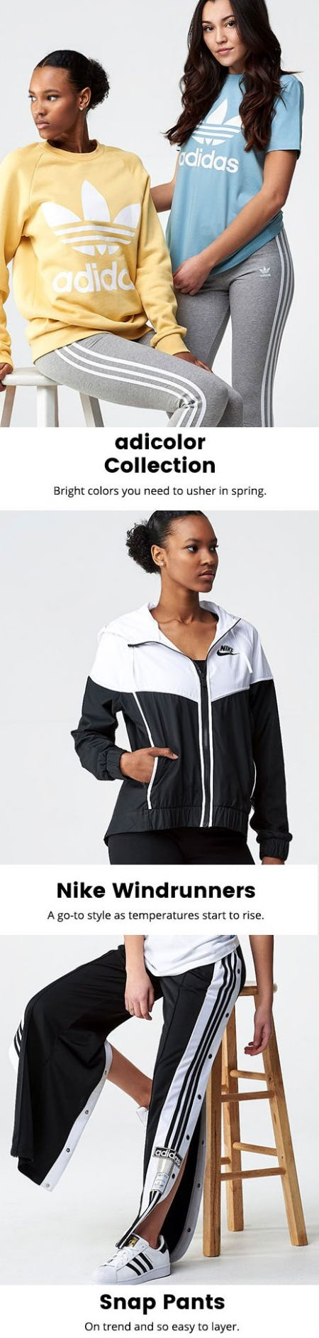 Must-Have Styles for Spring from Lady Foot Locker
