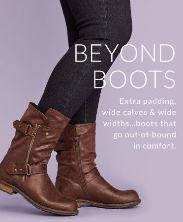 Beyond Boots from Lane Bryant