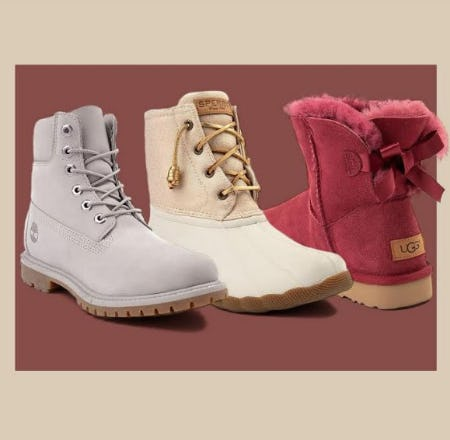 New Timberland, Sperry and UGG® Boots