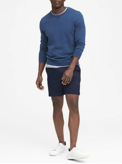 Cotton Sport Crew from Banana Republic