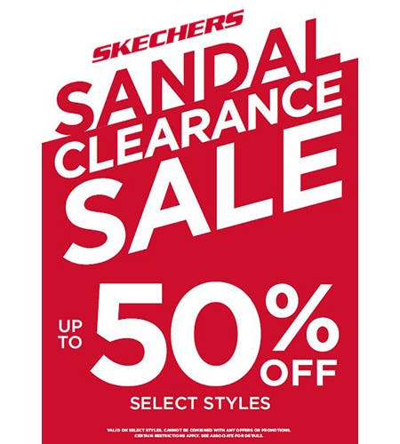 SANDALS UP TO 50% OFF