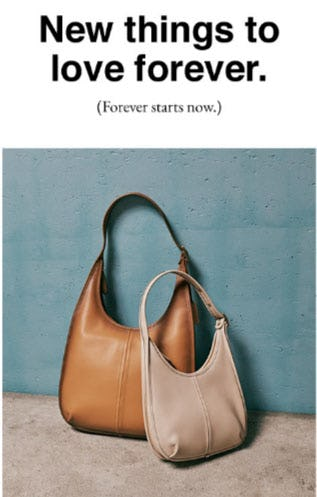 New Things to Love Forever from Coach