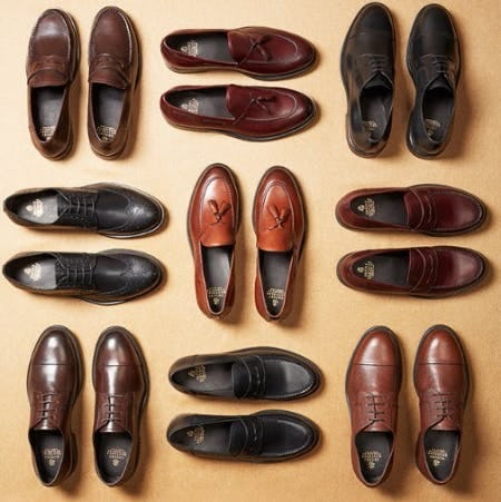 The 1818 Footwear Collection
