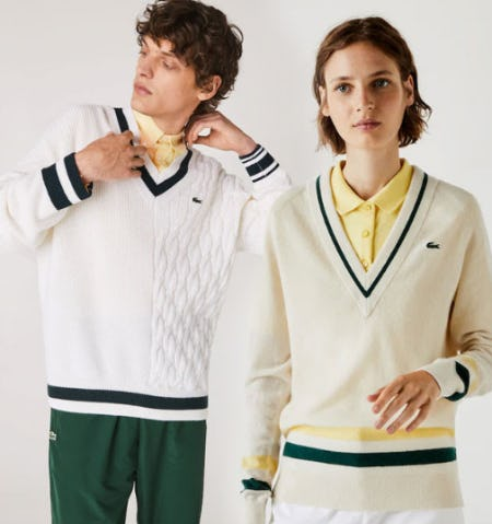 Your Layering Essentials for Fall from Lacoste