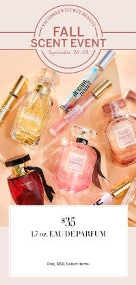 $35 1.7 oz. Eau De Parfum from Victoria's Secret