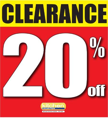 Additional Clearance Savings