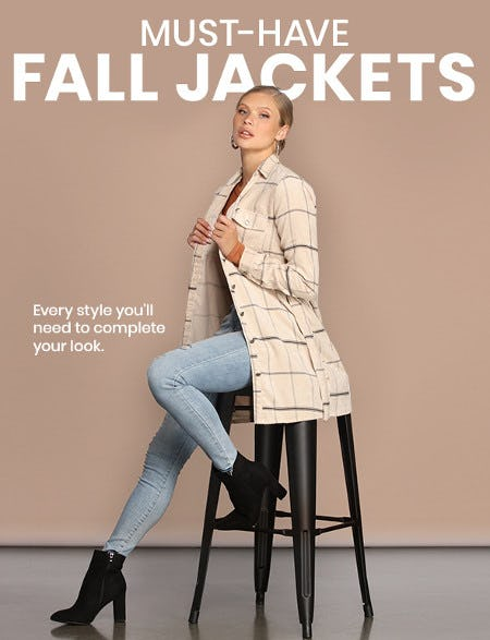 Must-Have Fall Jackets from Windsor