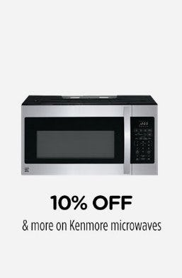 10% Off & More on Kenmore Microwaves