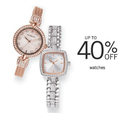 Up to 40% Off Watches from Belk