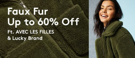 Faux Fur Up to 60% Off